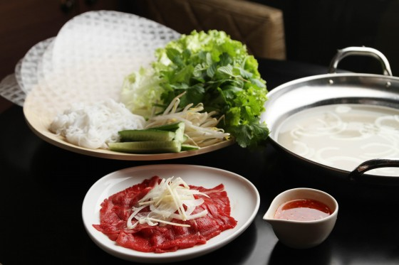 『牛肉のお酢しゃぶ』